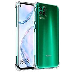 Custodia Silicone Trasparente Ultra Sottile Morbida K03 per Huawei P40 Lite Chiaro