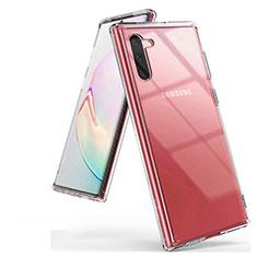 Custodia Silicone Trasparente Ultra Sottile Morbida K03 per Samsung Galaxy Note 10 5G Chiaro