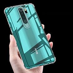 Custodia Silicone Trasparente Ultra Sottile Morbida K03 per Xiaomi Redmi Note 8 Pro Chiaro