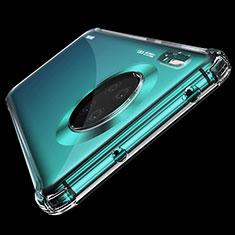 Custodia Silicone Trasparente Ultra Sottile Morbida K04 per Huawei Mate 30 5G Chiaro