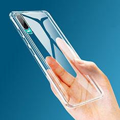 Custodia Silicone Trasparente Ultra Sottile Morbida K04 per Huawei P30 Chiaro
