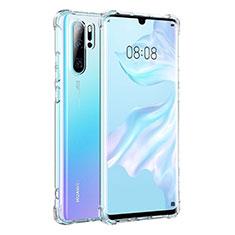 Custodia Silicone Trasparente Ultra Sottile Morbida K04 per Huawei P30 Pro Chiaro