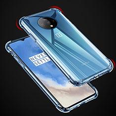 Custodia Silicone Trasparente Ultra Sottile Morbida K04 per OnePlus 7T Chiaro