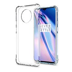 Custodia Silicone Trasparente Ultra Sottile Morbida K04 per OnePlus 7T Pro Chiaro