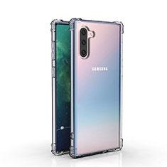 Custodia Silicone Trasparente Ultra Sottile Morbida K04 per Samsung Galaxy Note 10 5G Chiaro