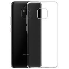 Custodia Silicone Trasparente Ultra Sottile Morbida K05 per Huawei Mate 20 Pro Chiaro