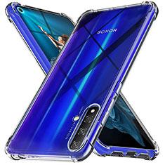 Custodia Silicone Trasparente Ultra Sottile Morbida K05 per Huawei Nova 5T Chiaro