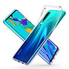 Custodia Silicone Trasparente Ultra Sottile Morbida K05 per Huawei P30 Chiaro