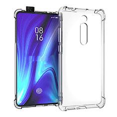 Custodia Silicone Trasparente Ultra Sottile Morbida K05 per Xiaomi Mi 9T Chiaro