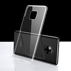 Custodia Silicone Trasparente Ultra Sottile Morbida K06 per Huawei Mate 20 Pro Chiaro