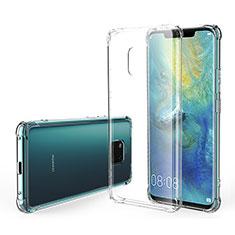 Custodia Silicone Trasparente Ultra Sottile Morbida K07 per Huawei Mate 20 Pro Chiaro