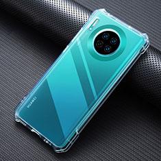 Custodia Silicone Trasparente Ultra Sottile Morbida K07 per Huawei Mate 30 Chiaro