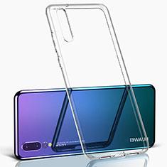 Custodia Silicone Trasparente Ultra Sottile Morbida K09 per Huawei P20 Pro Chiaro