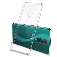 Custodia Silicone Trasparente Ultra Sottile Morbida M04 per Oppo R17 Pro Chiaro