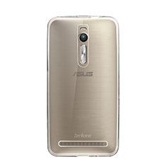 Custodia Silicone Trasparente Ultra Sottile Morbida per Asus Zenfone 2 ZE551ML ZE550ML Chiaro