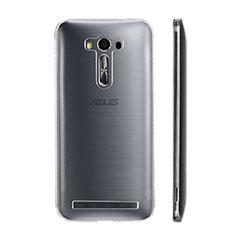 Custodia Silicone Trasparente Ultra Sottile Morbida per Asus Zenfone Selfie ZD551KL Chiaro