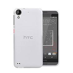 Custodia Silicone Trasparente Ultra Sottile Morbida per HTC Desire 630 Chiaro