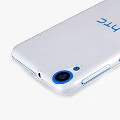Custodia Silicone Trasparente Ultra Sottile Morbida per HTC Desire 820 Chiaro