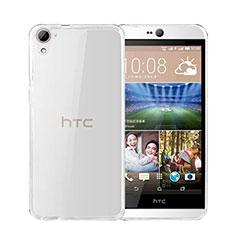 Custodia Silicone Trasparente Ultra Sottile Morbida per HTC Desire 826 826T 826W Chiaro