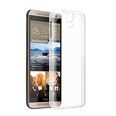 Custodia Silicone Trasparente Ultra Sottile Morbida per HTC One E9 Plus Chiaro