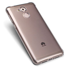 Custodia Silicone Trasparente Ultra Sottile Morbida per Huawei Enjoy 6S Grigio