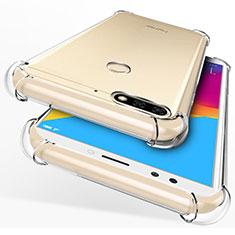 Custodia Silicone Trasparente Ultra Sottile Morbida per Huawei Enjoy 8 Chiaro