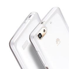 Custodia Silicone Trasparente Ultra Sottile Morbida per Huawei G Play Mini Chiaro