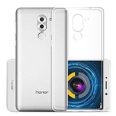 Custodia Silicone Trasparente Ultra Sottile Morbida per Huawei Honor 6X Pro Chiaro