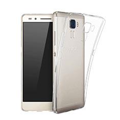 Custodia Silicone Trasparente Ultra Sottile Morbida per Huawei Honor 7 Chiaro