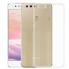 Custodia Silicone Trasparente Ultra Sottile Morbida per Huawei Honor 8 Chiaro
