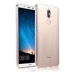 Custodia Silicone Trasparente Ultra Sottile Morbida per Huawei Mate 10 Lite Chiaro