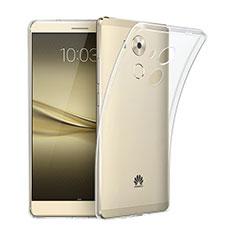Custodia Silicone Trasparente Ultra Sottile Morbida per Huawei Mate 8 Chiaro