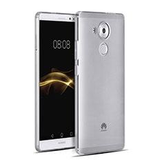 Custodia Silicone Trasparente Ultra Sottile Morbida per Huawei Mate 8 Grigio