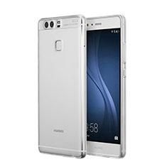 Custodia Silicone Trasparente Ultra Sottile Morbida per Huawei P9 Plus Chiaro