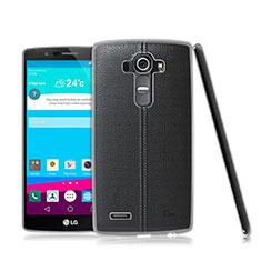 Custodia Silicone Trasparente Ultra Sottile Morbida per LG G4 Chiaro
