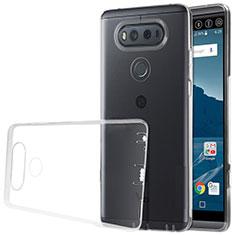 Custodia Silicone Trasparente Ultra Sottile Morbida per LG V20 Chiaro