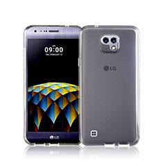 Custodia Silicone Trasparente Ultra Sottile Morbida per LG X Cam Bianco