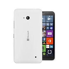 Custodia Silicone Trasparente Ultra Sottile Morbida per Microsoft Lumia 640 Chiaro