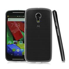 Custodia Silicone Trasparente Ultra Sottile Morbida per Motorola Moto G (2nd Gen) Chiaro