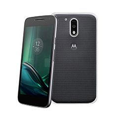 Custodia Silicone Trasparente Ultra Sottile Morbida per Motorola Moto G4 Chiaro