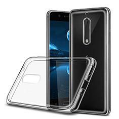 Custodia Silicone Trasparente Ultra Sottile Morbida per Nokia 5 Chiaro