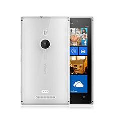 Custodia Silicone Trasparente Ultra Sottile Morbida per Nokia Lumia 925 Chiaro