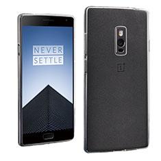 Custodia Silicone Trasparente Ultra Sottile Morbida per OnePlus 2 Chiaro