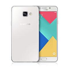Custodia Silicone Trasparente Ultra Sottile Morbida per Samsung Galaxy A3 (2016) SM-A310F Bianco