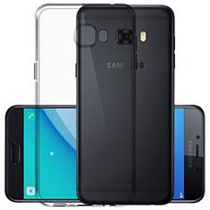 Custodia Silicone Trasparente Ultra Sottile Morbida per Samsung Galaxy C7 Pro C7010 Chiaro