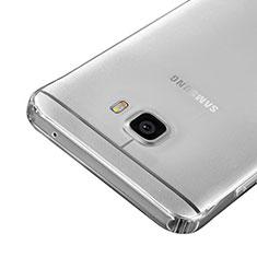 Custodia Silicone Trasparente Ultra Sottile Morbida per Samsung Galaxy C7 SM-C7000 Chiaro