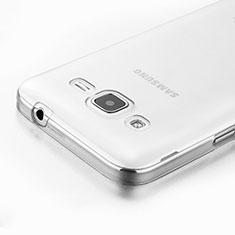 Custodia Silicone Trasparente Ultra Sottile Morbida per Samsung Galaxy Core Prime G360F G360GY Chiaro
