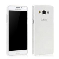 Custodia Silicone Trasparente Ultra Sottile Morbida per Samsung Galaxy Grand 3 G7200 Chiaro