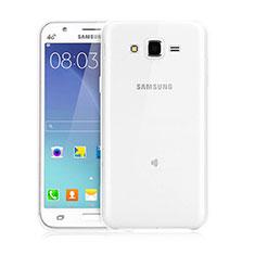 Custodia Silicone Trasparente Ultra Sottile Morbida per Samsung Galaxy J3 Chiaro