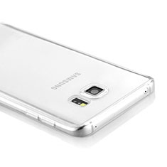 Custodia Silicone Trasparente Ultra Sottile Morbida per Samsung Galaxy Note 5 N9200 N920 N920F Chiaro